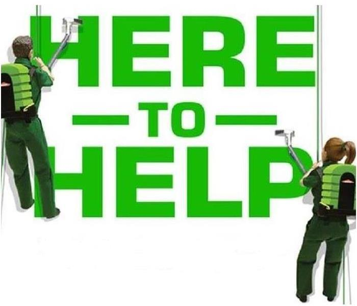 SERVPRO Here to Help